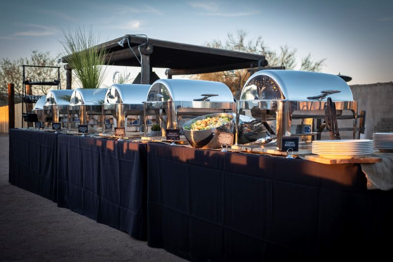 bbq Catering buffet